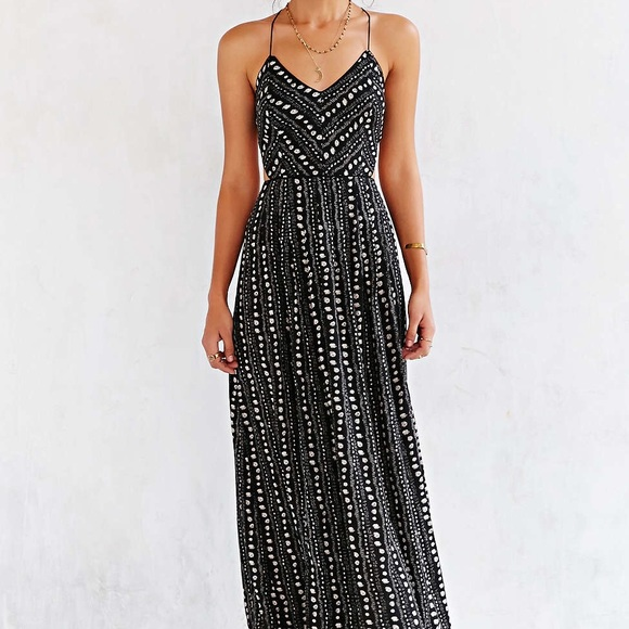 1d68c62fd4 Urban Outfitters Dresses | Iso Ecote Safari Maxi Dress | Poshmark